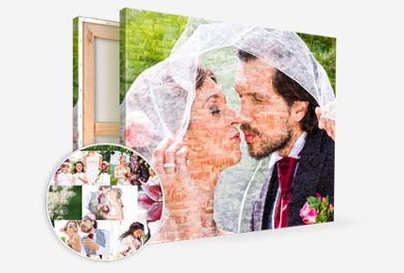 Mosaique-toile-couple-mariage