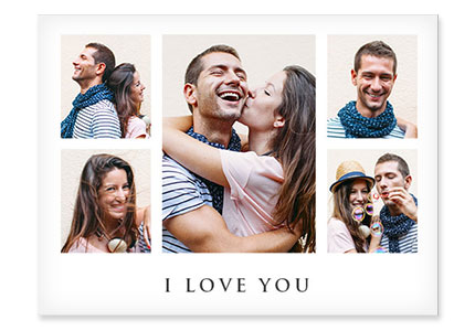 Produit collage toile love