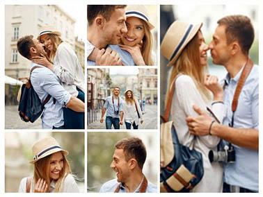 collage de photo slider