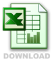 excel download fichier icon