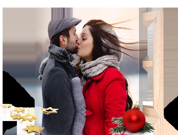 noel-landing-couple-baiser-sur-toile